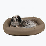 non-chewing donut dog bed