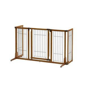 luxury wooden dog gate