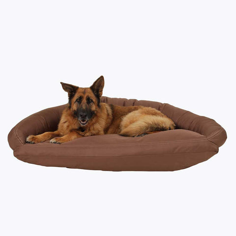 chew-proof bolster dog bed