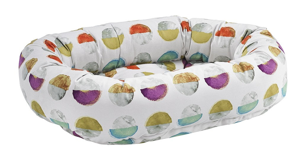 luna donut dog bed