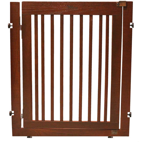 "36"" tall pressure mounted dog gate"