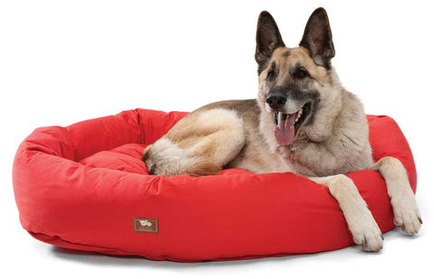 Organic Bumper Dog Bed