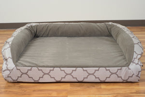 chew proof designer dog bed