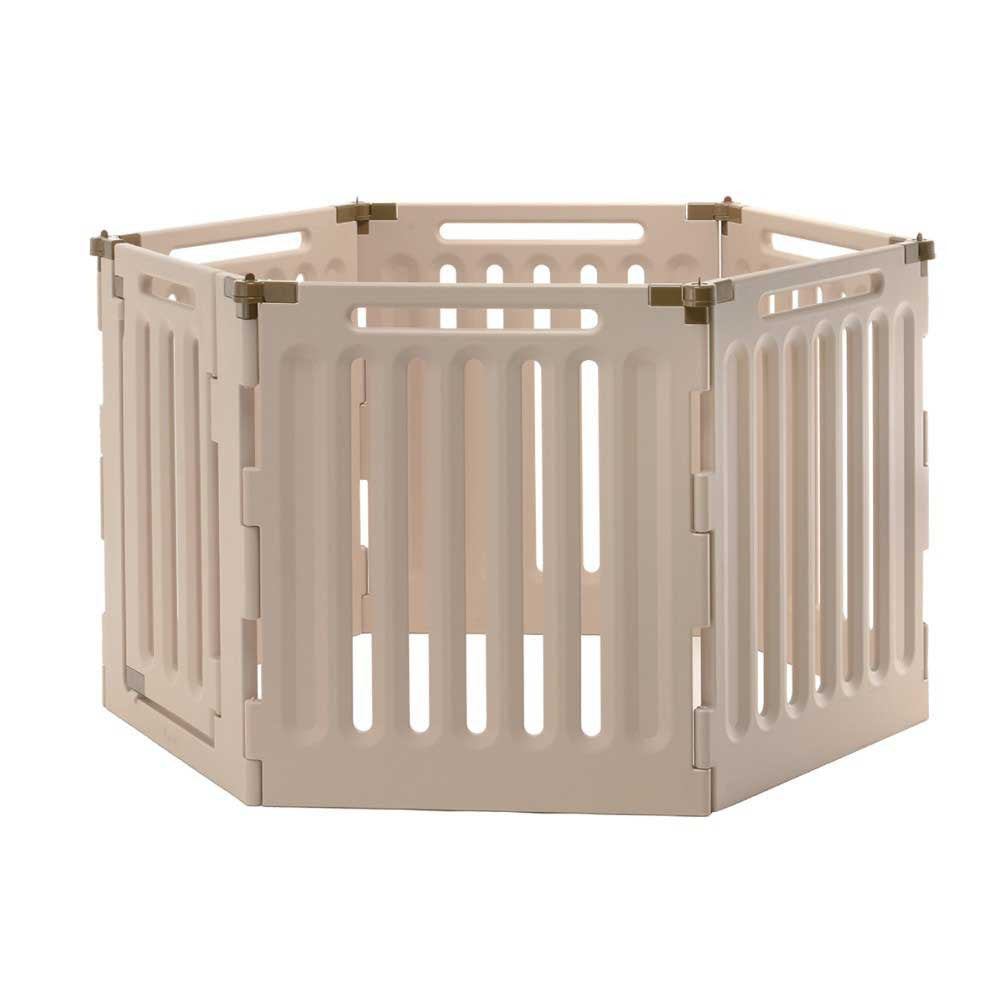 6 panel dog playpen and gate