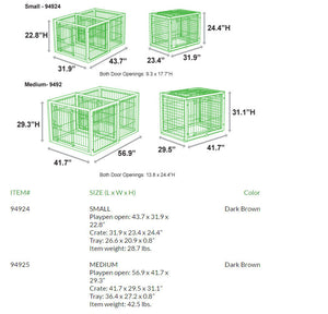 puppy playpen configurations