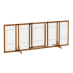 Premium Wide Dog Gate in flat configuaration