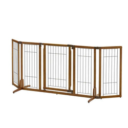 Premium Stand Alone Pet Gate w/Door