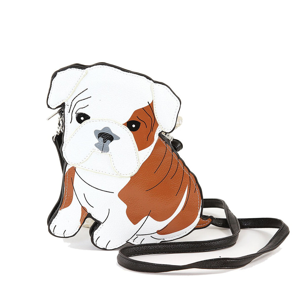 English Bulldog Puppy Crossbody Bag