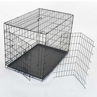 Single Door Folding Dog Crate