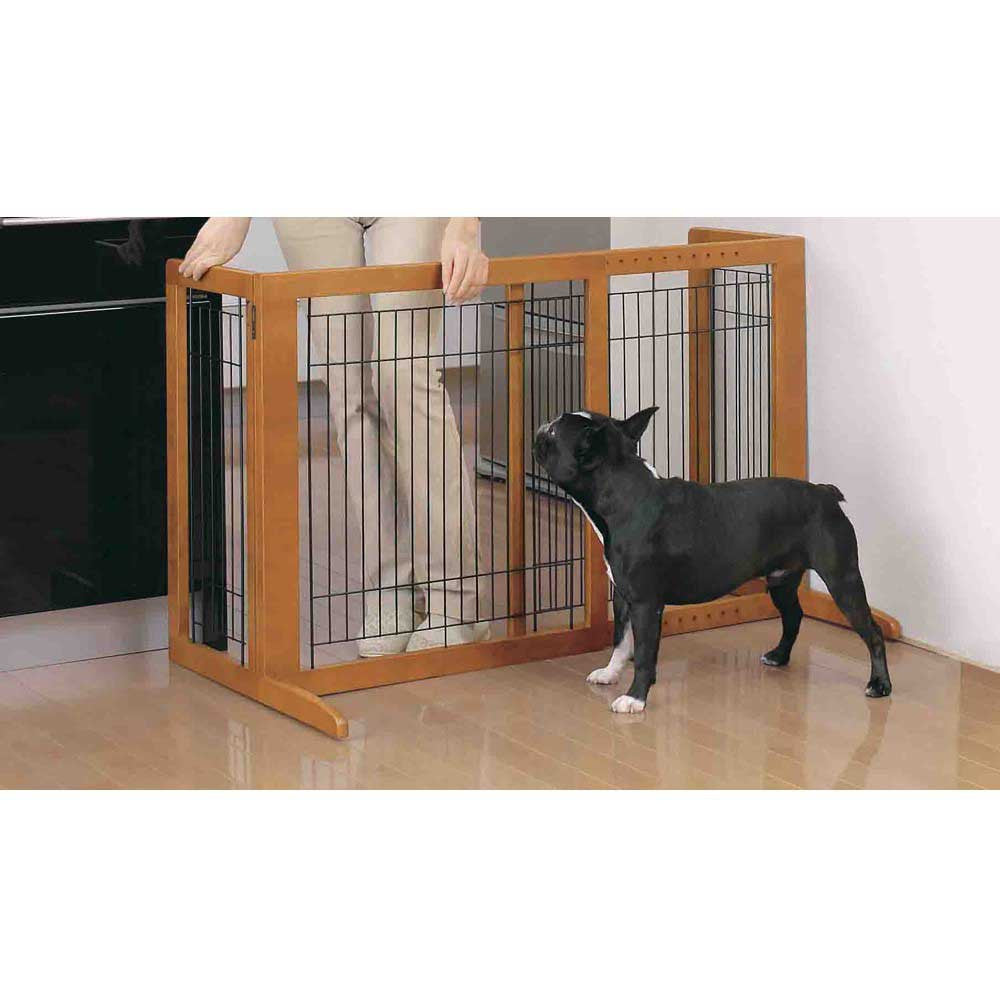 Tall Freestanding Pet Gate