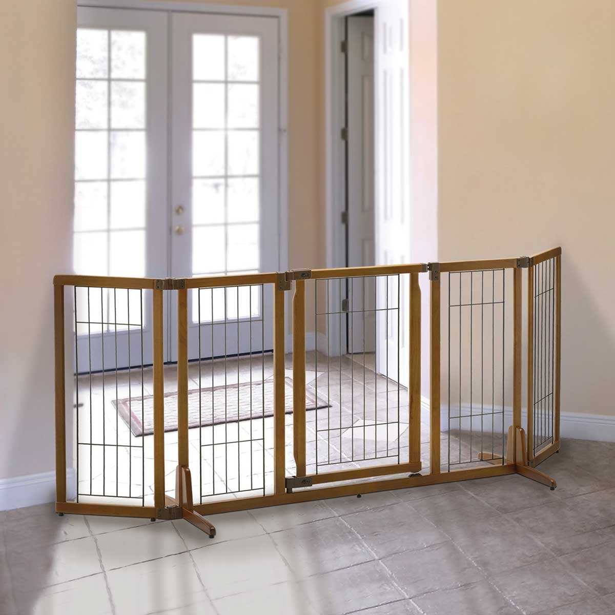 Premium Stand Alone Pet Gate W Door Best Of Dog
