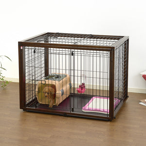 puppy playpen and crate