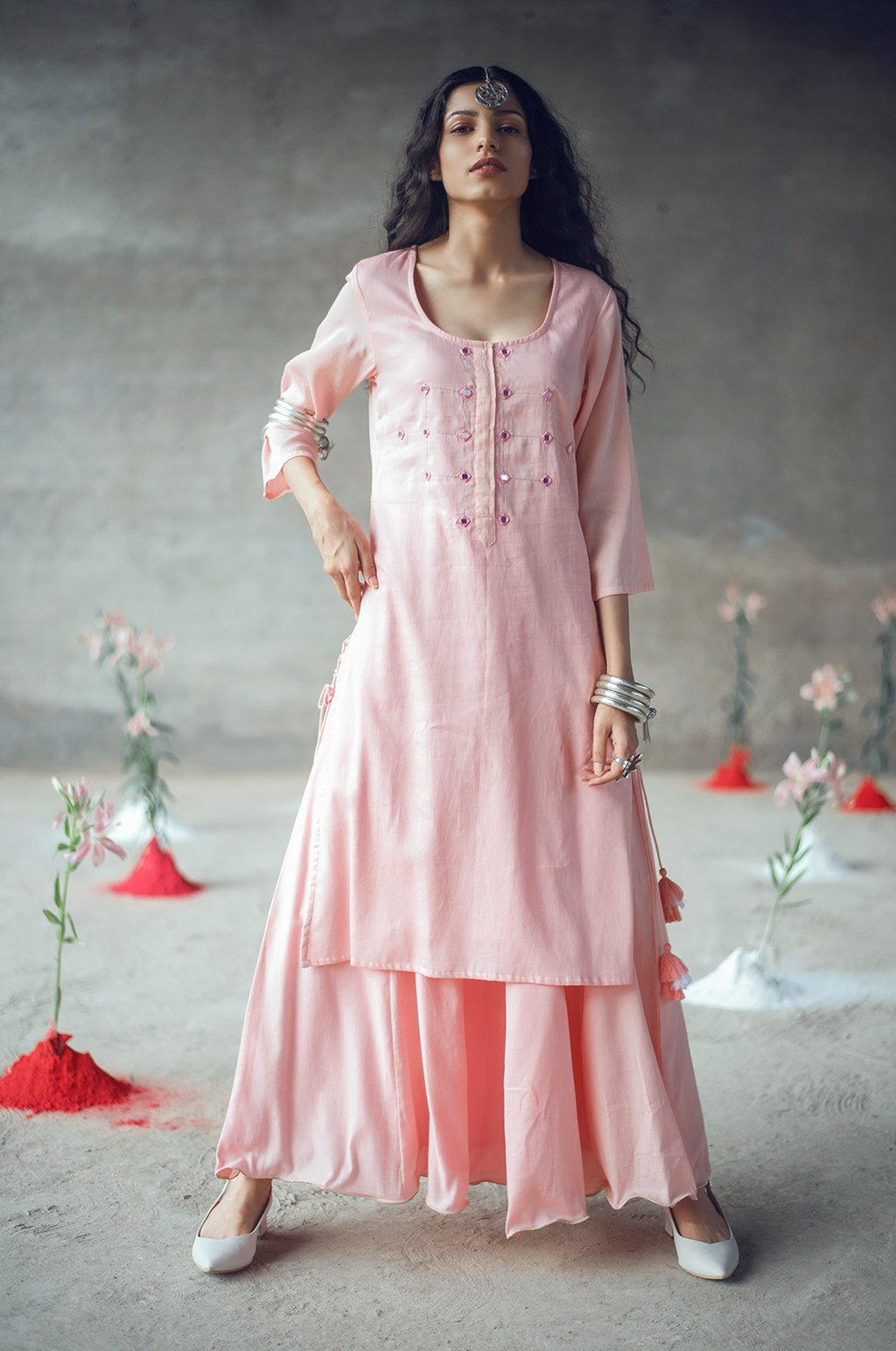 Karnika kurta-Skirt Set