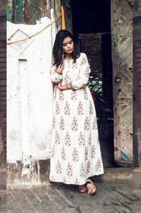BLOCK PRINT KASHISH DRESS