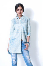 Birdie Long Shirt Indigo