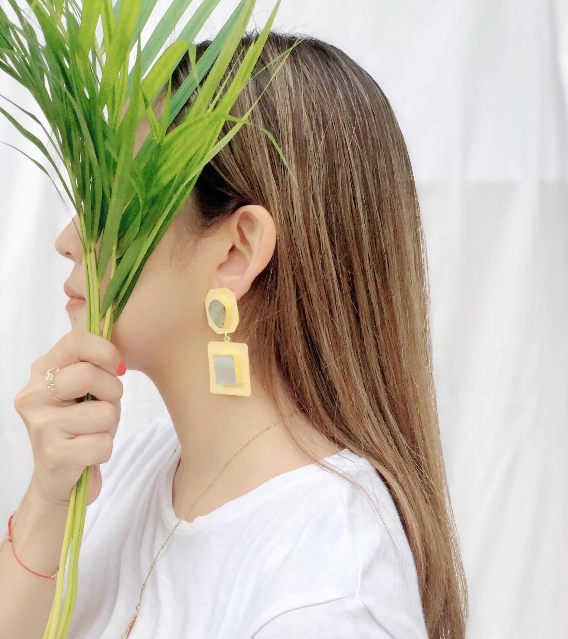 Nefertiti Drop Earrings