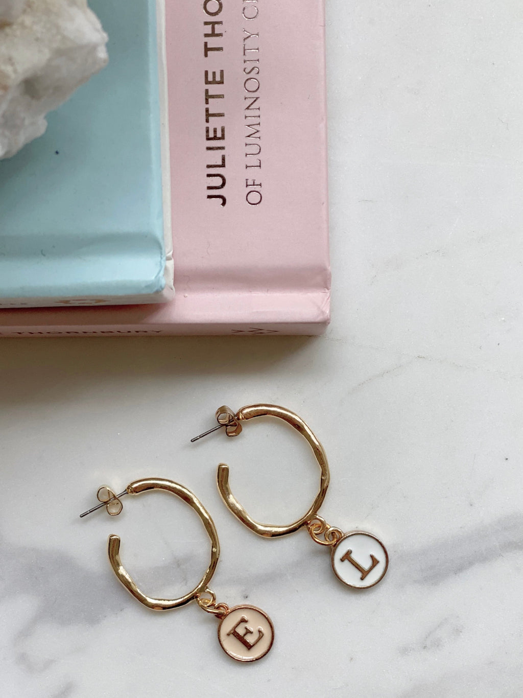 Keira Initial Earrings