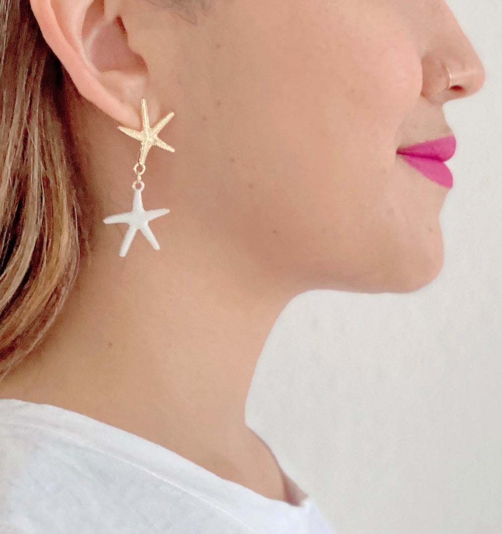 Lelaina Starfish Earrings