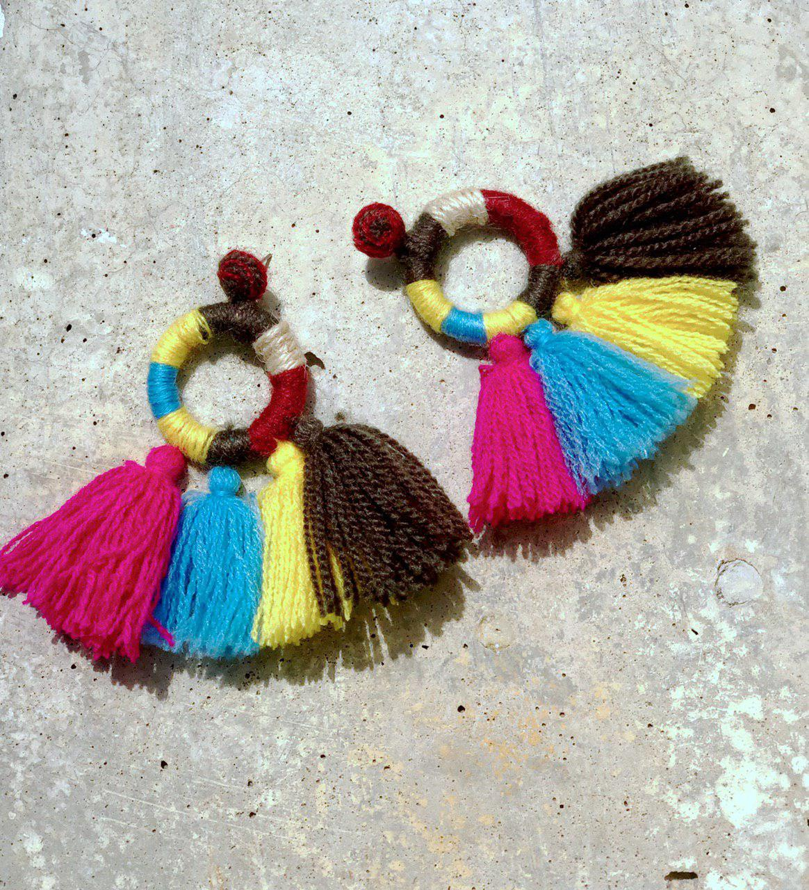Naïma Tassel Earrings