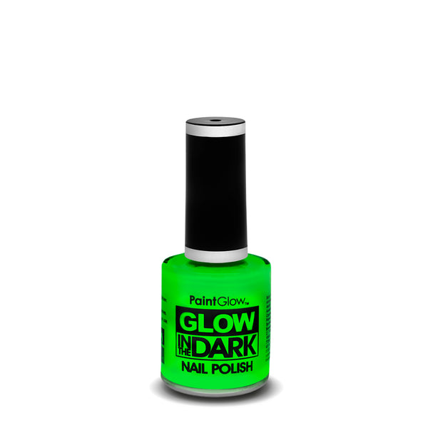PaintGlow Neon Glow in the Dark Nail Polish Green 10ml