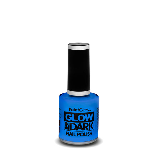 PaintGlow Neon Glow in the Dark Nail Polish Blue 10ml