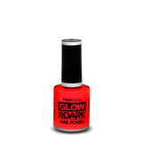 PaintGlow Neon Glow in the Dark Nail Polish Red 10ml