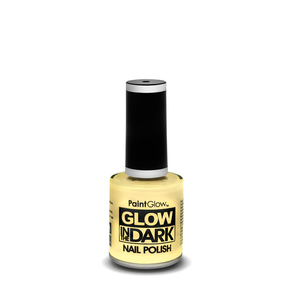 PaintGlow Neon Glow in the Dark Nail Polish Invisible 10ml