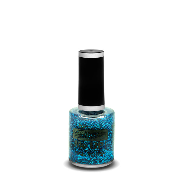 PaintGlow Glitter Nail Polish Blue 10ml