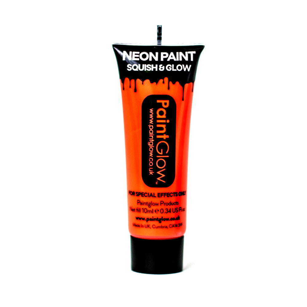 PaintGlow UV Paint Neon Orange 10ml