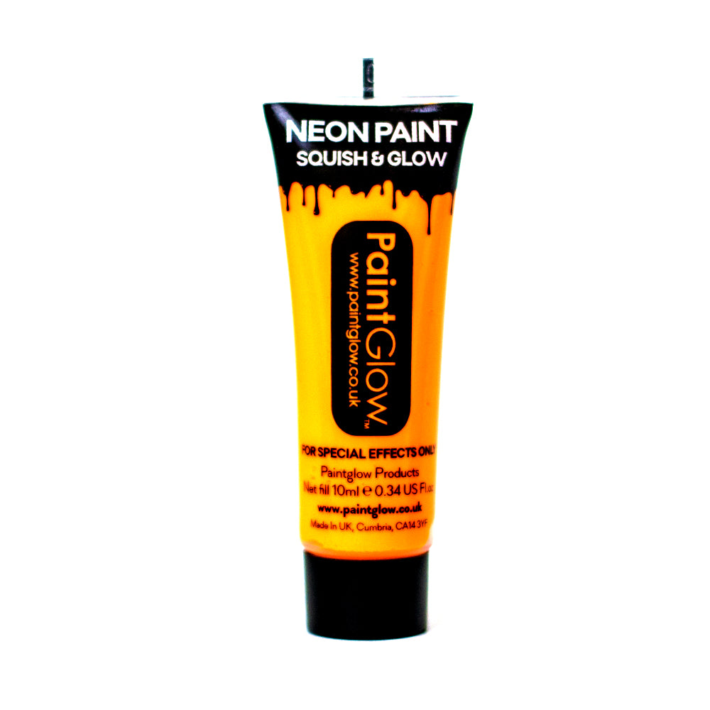 PaintGlow UV Paint Neon Sunshine Orange 10ml