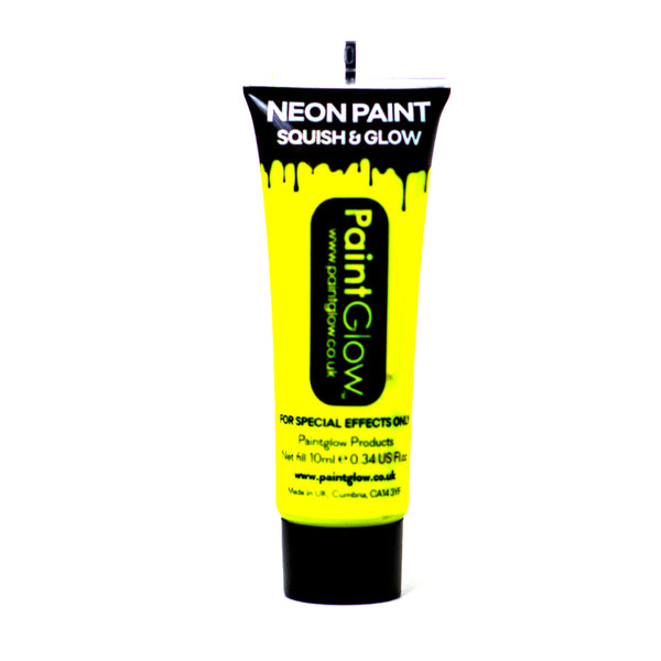 PaintGlow UV Paint Neon Yellow 10ml