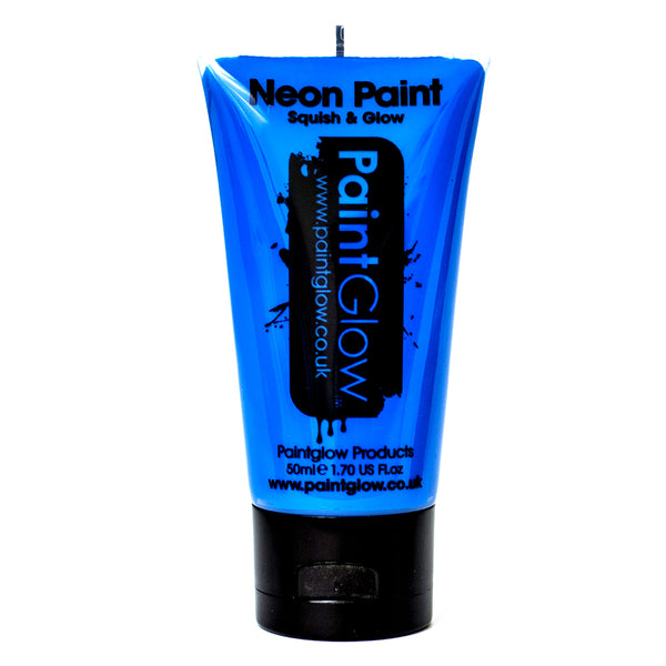 Large PaintGlow UV Paint Neon Blue 50ml
