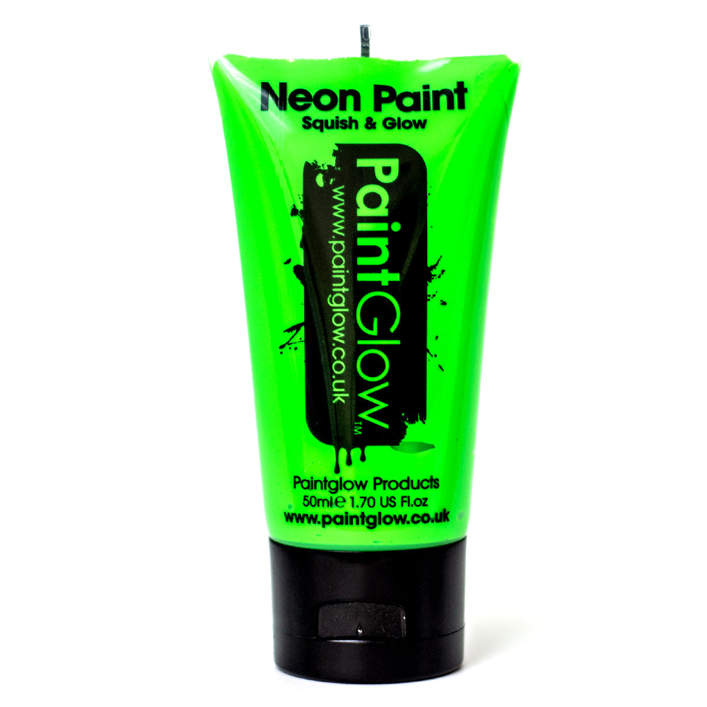Large PaintGlow UV Paint Neon Green 50ml