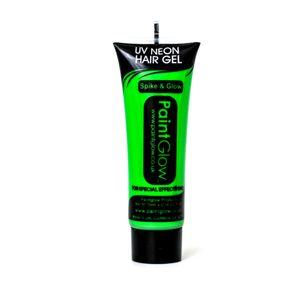 Paintglow UV Hair Gel Neon Green 10ml