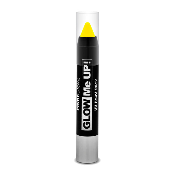Paint Glow UV Neon Paint Sticks in Yellow 3g