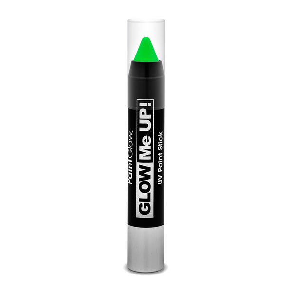 Paint Glow UV Neon Paint Sticks in Green 3g