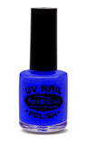 Paintglow UV Nail Polish Neon Blue 10ml