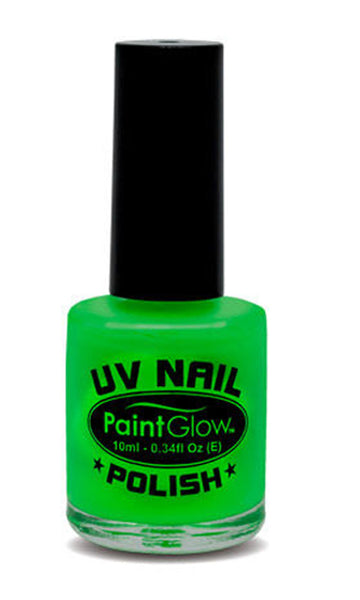 Paintglow UV Nail Polish Neon Green 10ml
