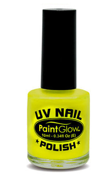 Paintglow UV Nail Polish Neon Yellow 10ml