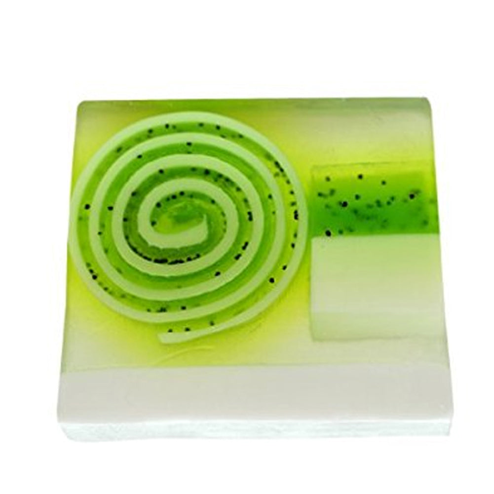 Bomb Cosmetics  Lime and Dandy Soap Slice 100g