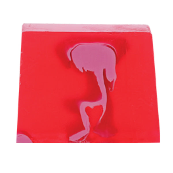 Bomb Cosmetics  Ruby Vegas Soap Slice 100g