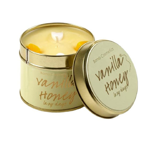 Bomb Cosmetics  Vanilla Honey Tinned Candle 50 Hours