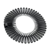 Flexi-Comb Hairband - Black  11cm