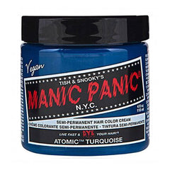 Manic Panic High Voltage Classic Cream Formula Hair Color Atomic Turquoise 118ml