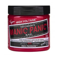 Manic Panic High Voltage Classic Cream Formula Hair Color Red Passion 118ml