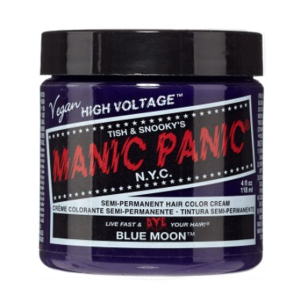 Manic Panic High Voltage Classic Cream Formula Hair Color Blue Moon 118ml