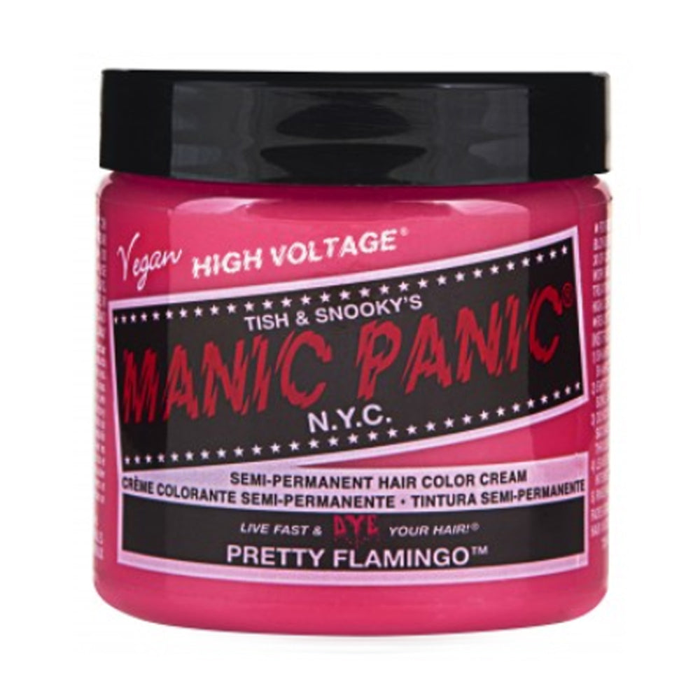Manic Panic High Voltage Classic Cream Formula Hair Color Pretty Flamingo  118ml