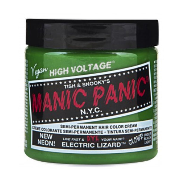 Manic Panic High Voltage Classic Cream Formula Hair Color Electric Lizard 118ml