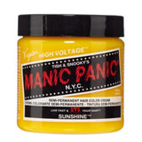 Manic Panic High Voltage Classic Cream Formula Hair Color Sunshine 118ml