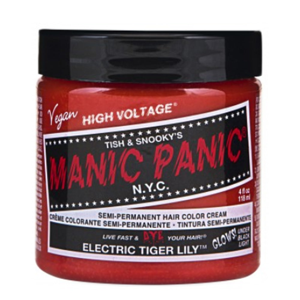 Manic Panic High Voltage Classic Cream Formula Hair Color Electric Tiger Lily 118ml